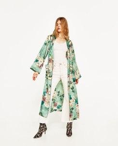 Zara Printed Kimono